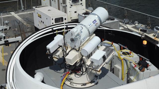 ВМС США готовятся к применению лазерного оружия. Как это работает.