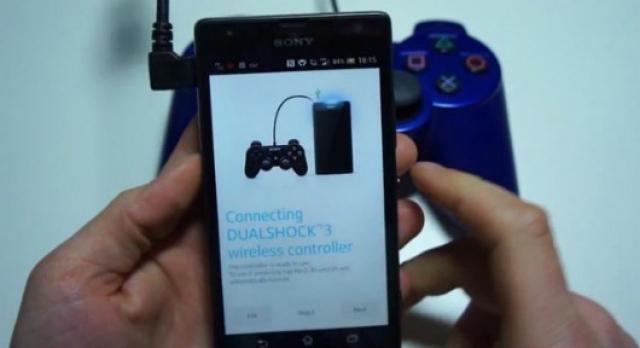 Контроллер DUALSHOCK 3 – теперь и для Android