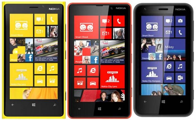 Владельцев Nokia Lumia 920, 820 и 620 ждет обновление ПО