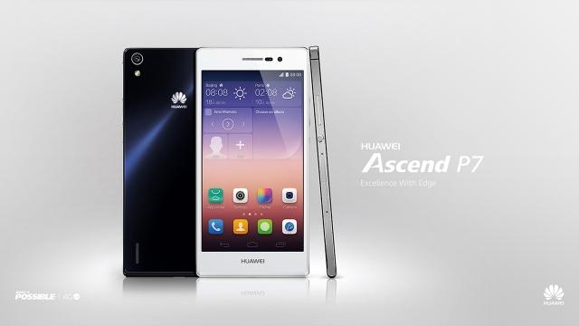 Новый 4G LTE смартфон Huawei Ascend P7