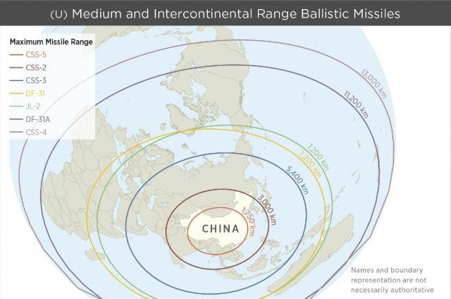 Китай может доставить ядерную боеголовку практически в любую точку мира