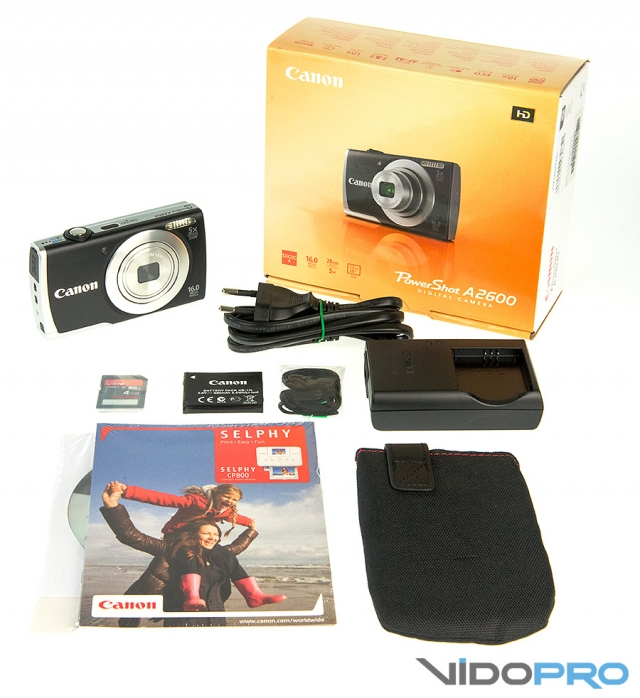 Canon PowerShot A2600: предложение для отпуска
