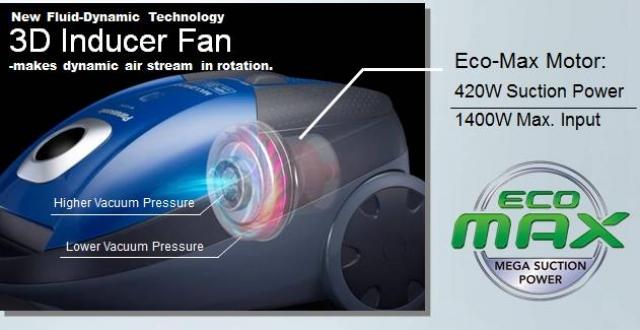 Пылесосы Panasonic - изящность и мощь…