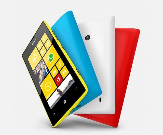 Nokia Lumia 520 поступил в продажу в Украине