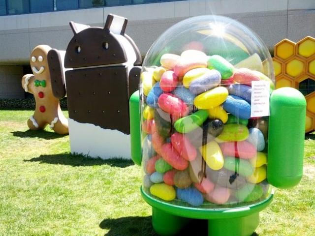 Google собирается выпустить Android 4.3?