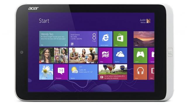 В Amazon появился 8.1-дюймовый планшет от Acer