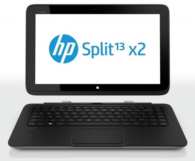 HP представила два трансформера для платформ Android и Windows
