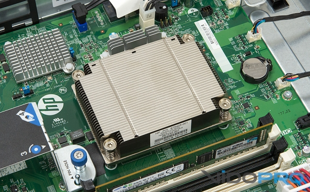 Обзор стоечного сервера HP ProLiant DL320e G8