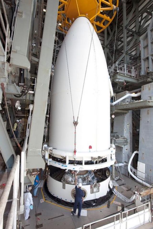 Миссия «солнечный парус» была запущена вместе с орбитальным самолетом X-37B