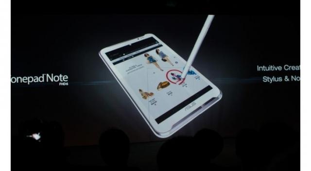 ASUS официально представила FonePad Note