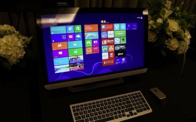 «Все-в-одном» – компьютер от Toshiba
