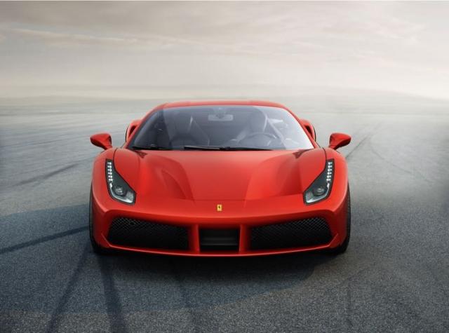 Официальная информация о Ferrari 488 GTB