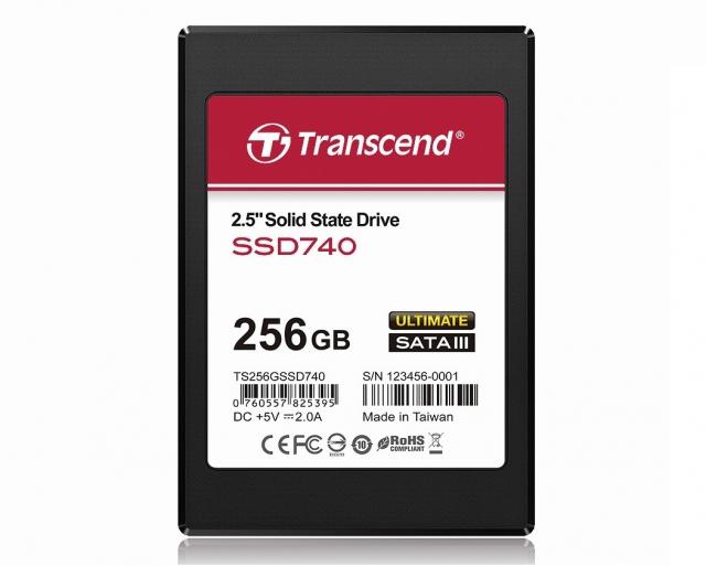 Твердотельный накопитель SSD740 с интерфейсом SATA III
