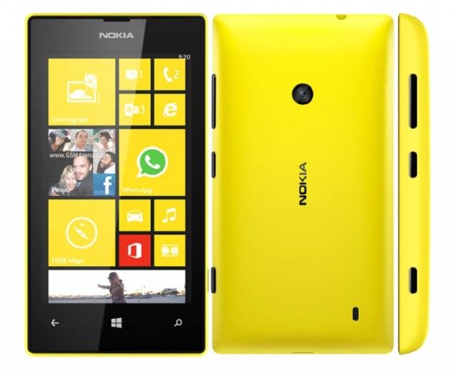 Nokia Lumia 520 принадлежит 9% рынка Windows-фонов