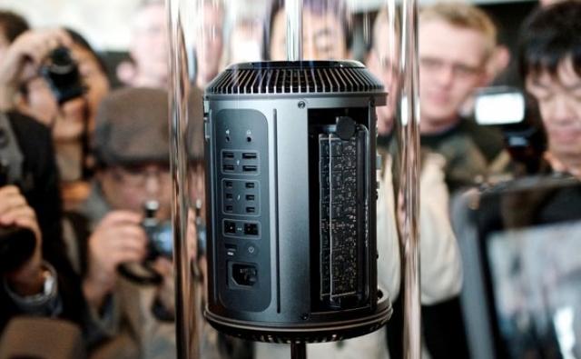 Apple превратила новый Mac Pro в цилиндр