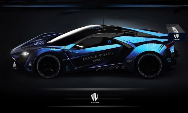 W Motors и Quimera разработают экологически чистый гоночный автомобиль