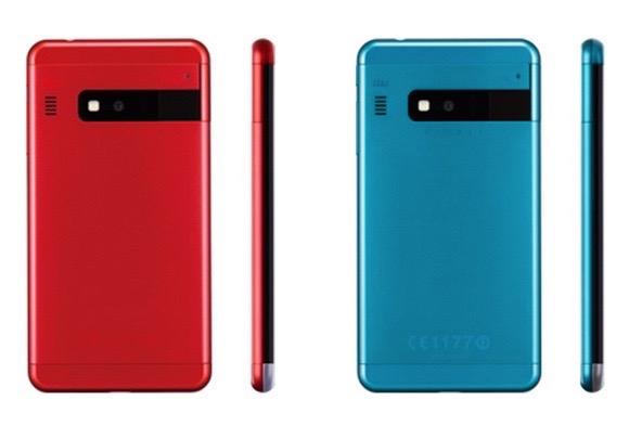 Представлен новый дизайнерский смартфон Infobar A03
