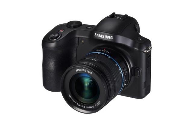 Фотоаппарат Samsung Galaxy NX: Android, сменные объективы, 3G/ 4G LTE и Wi-Fi