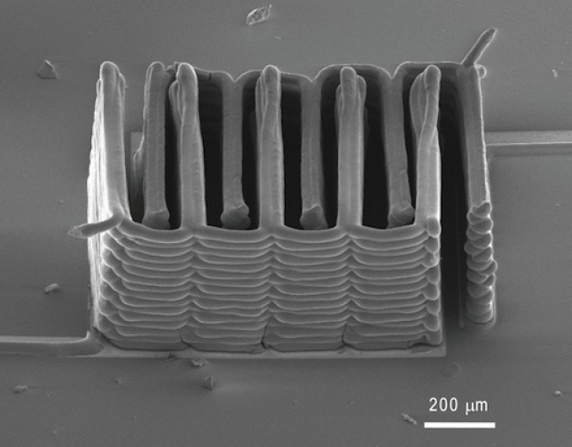 Батарея с песчинку распечатана на 3D принтере