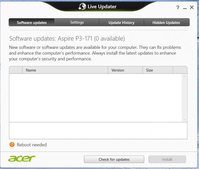 acer live updater app