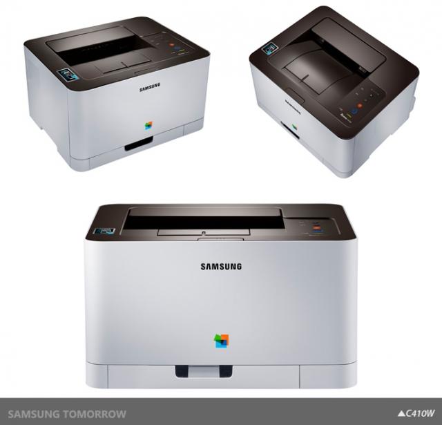 Новые принтеры и МФУ Samsung Xpress C410W с поддержкой NFC