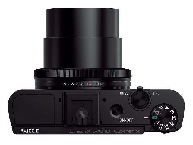 Sony Cyber-shot RX100 II: Wi-Fi/NFC и поворотный LCD-дисплей