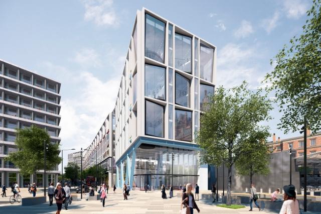 Лондонская штаб-квартира Google будет из стали и дерева