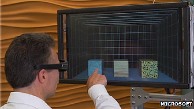 В Microsoft создали сенсорный 3D дисплей с тактильной обратной связью