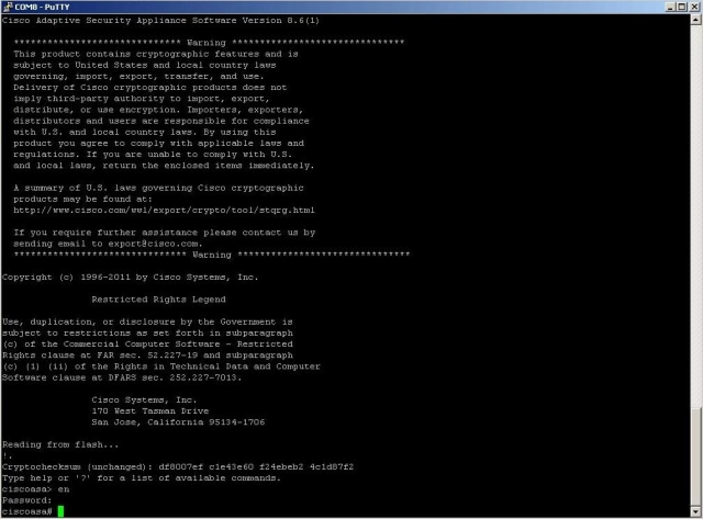 Активация лицензии К9 на Cisco ASA5500. Часть вторая