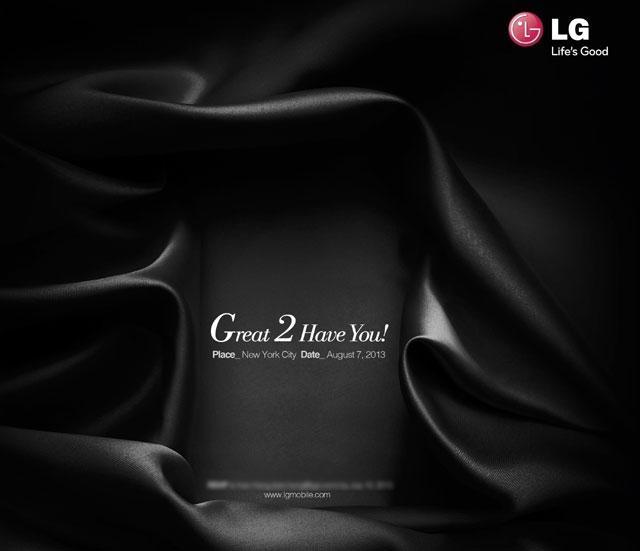 7 августа в Нью-Йорке LG проведет пресс-конференцию