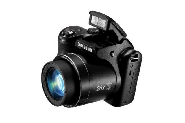 Samsung представляет фотокамеру WB110 с 26-кратным зумом