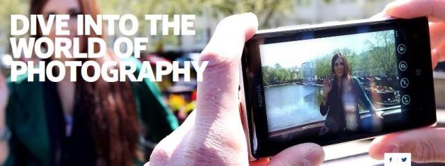 Nokia представила веб-сайт, посвященный мобильной фотографии
