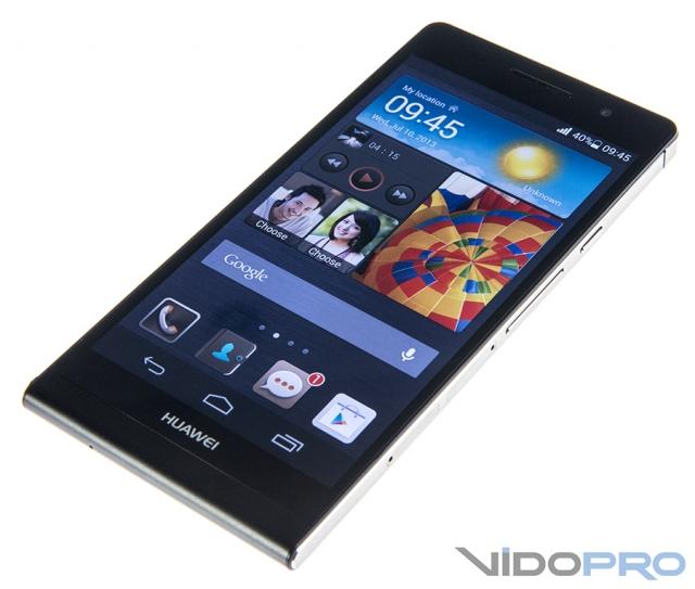 Huawei Ascend P6: камера всегда с тобой