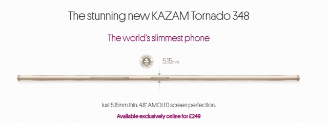 Самый тонкий смартфон в мире получил ребрендинг и новый рекламный ролик