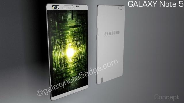 Смартфон моей мечты: Samsung Galaxy Note 5  с вращающейся камерой и новым крутым стилусом