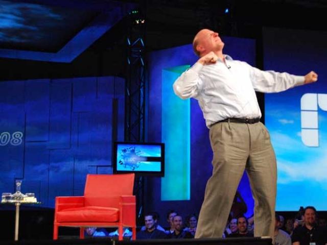 Стив Балмер рассказал о предстоящей реорганизации Microsoft