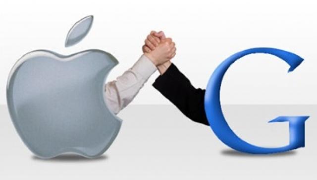 Отношения Google и Apple потеплели