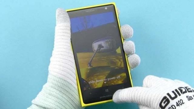 В Nokia разобрали Lumia 1020