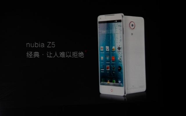 ZTE Nubia Z5 mini – официально!