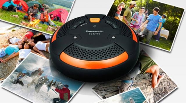 Panasonic выпустит ударопрочную портативную акустику SC-NT10