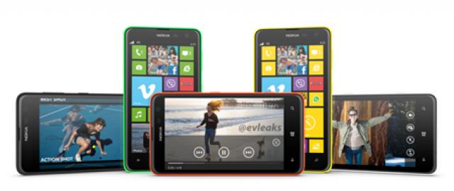 Nokia Lumia 625 - виновник сегодняшнего торжества