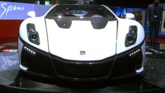 Графеновый суперкар GTA Spano развивает скорость свыше 370 км/ч