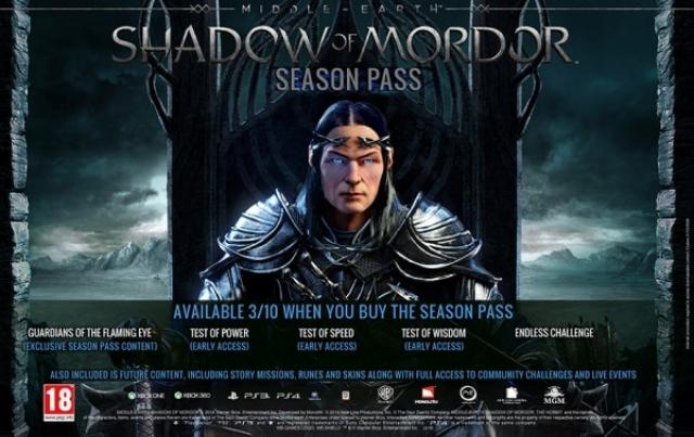 Дополнение Bright Lord для Middle-earth: Shadow of Mordor позволит сразиться с Сауроном