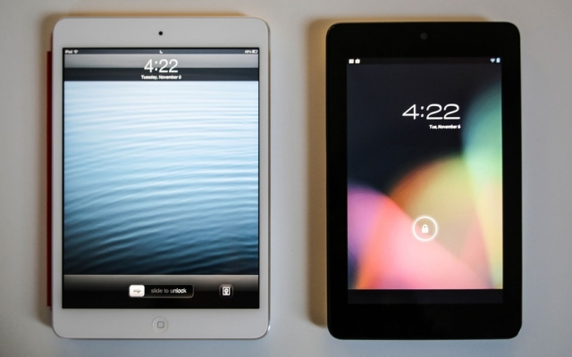 Кто кого? New Nexus 7 vs. iPad mini