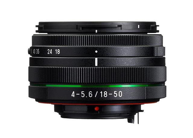 HD PENTAX-DA 18-50mm F4-5.6 DC WR RE - новый влагозащищенный сверхкомпактный объектив