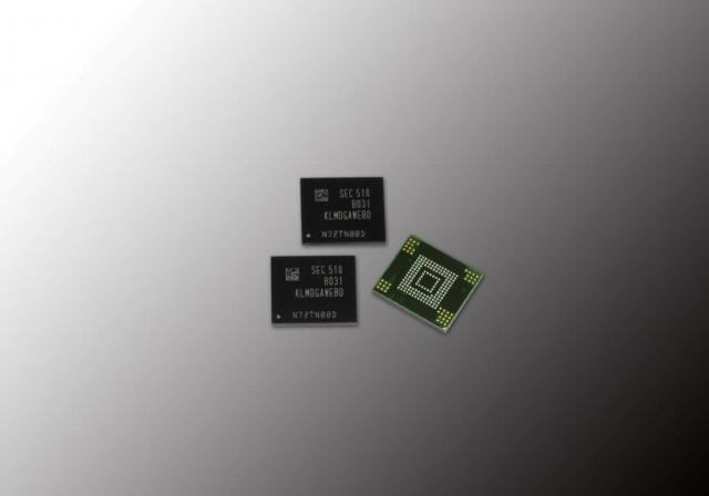 128 Гб накопители на трехбитных модулях NAND для смартфонов