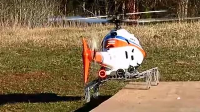 DARPA продемонстрировали роботизированное посадочное шасси для вертолетов