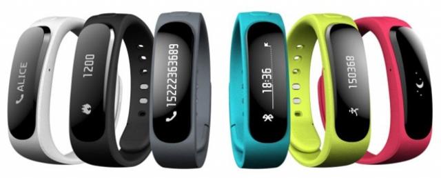 MWC 2014: Huawei официально представила умный браслет TalkBand B1