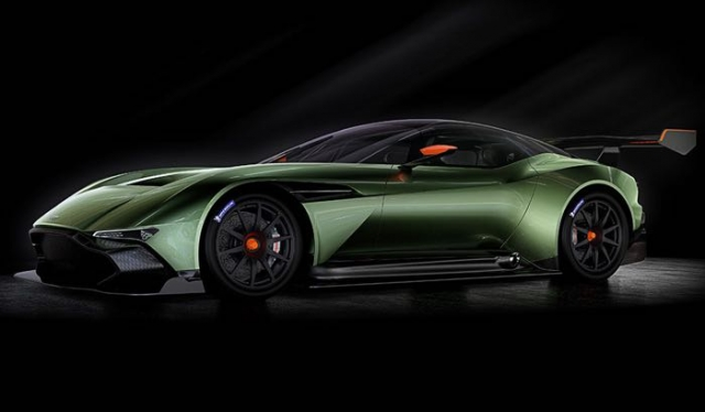 Новый Aston Martin Vulcan на 800 лошадиных сил