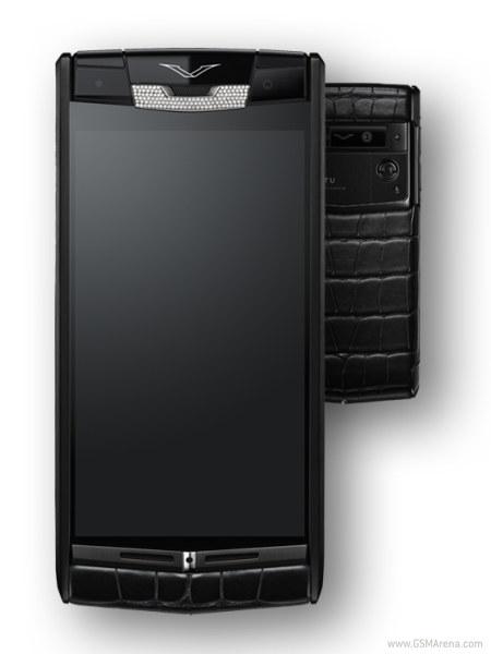 Vertu представила новый смартфон, декорированный кожей аллигатора и бриллиантами